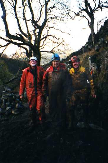 Dib Scar - Gordon, Pete and Stuart - 2004