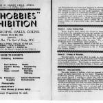EPC Hobbies Exhibition Catalogue 1952