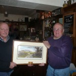 Long service presentation to Ken Holt - 2010