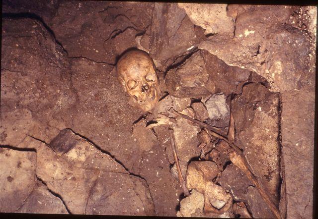 Skeleton at Potts Beck